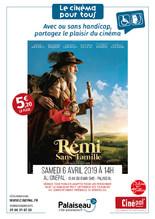 samedi 6 avril : CINEMAS POUR TOUS