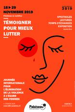 vendredi 29 SOIREE dans le cadre de JOURNÉE INTERNATIONALE POUR L'ÉLIMINATION DE LA VIOLENCE À L'ÉGARD DES FEMMES