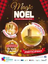 Magic Noël chez tous les commerçants: 10 000€ en bon d'achat à gagner
