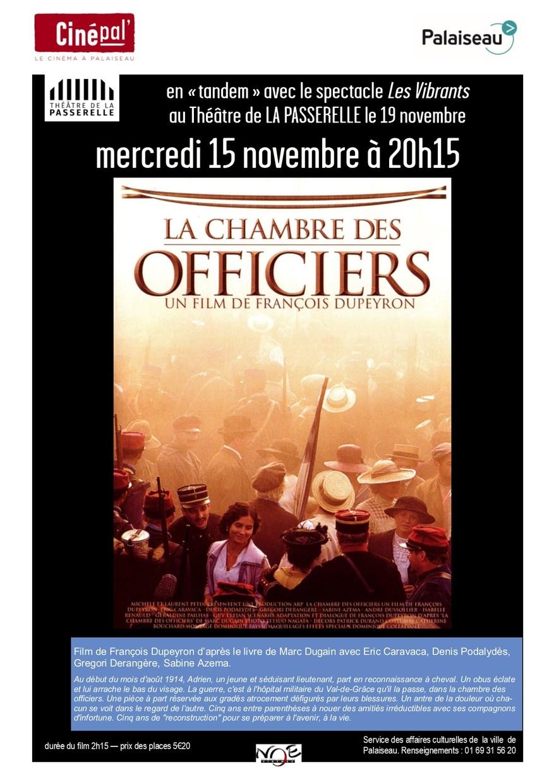 ... Marc Dugain Avenue Des Géants Enfin Livre La Chambre Des Officiers  Livre Mercredi 15 Novembre Tandem Theatre De La Passerelle La Chambre ...