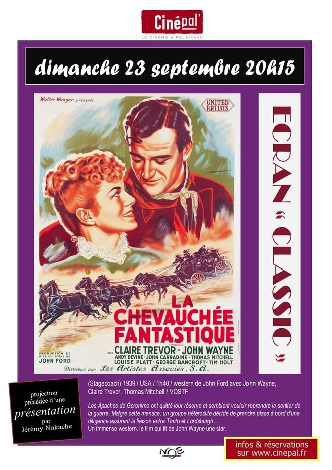 """dimanche 23 septembre : ECRAN """"CLASSIC"""" la Chevauchée fantastique"""