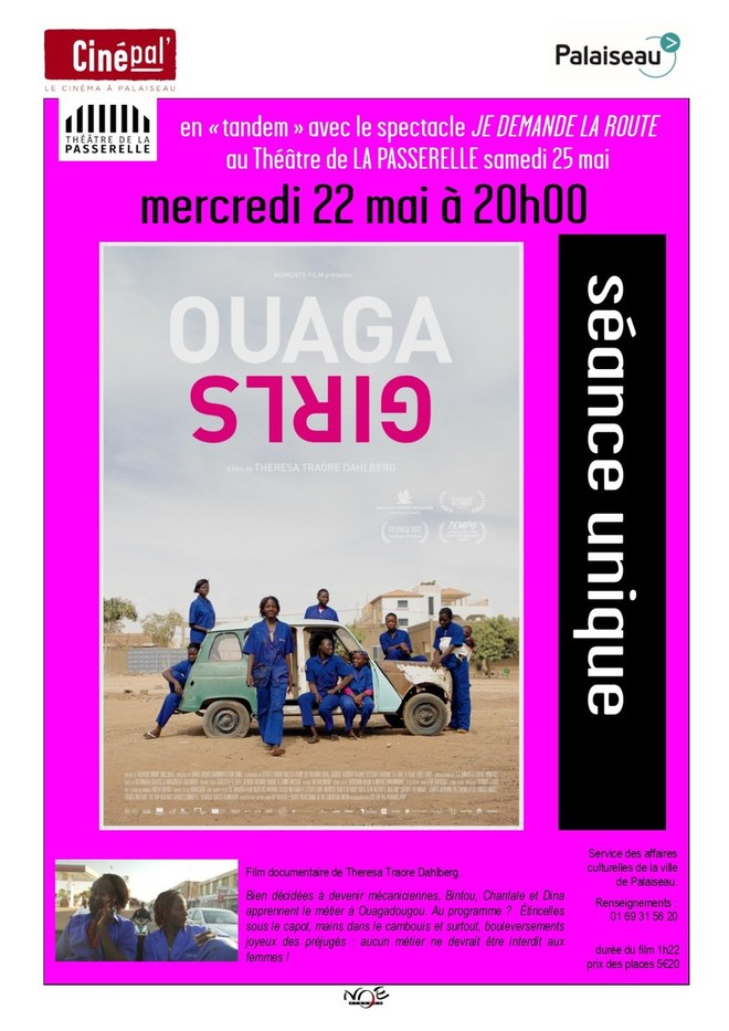 mercredi 22 mai, en Tandem avec le Théâtre de la Passerelle, projection du film