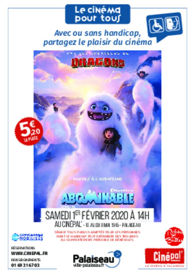 samedi 1er février : CINEMA POUR TOUS