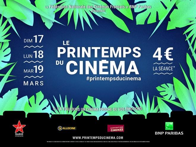 17, 18 et 19 mars LE PRINTEMPS DU CINEMA
