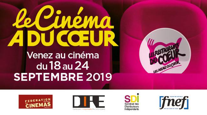 du 18 au 24 septembre : LE CINEMA A DU COEUR