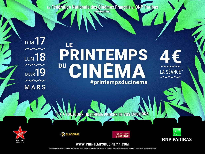 17, 18 et 19 mars LE PRINTEMPS DU CINEMA 5de1155daf7